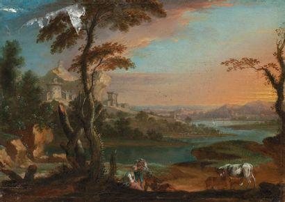 Ecole FRANCAISE du premier tiers du XVIIIème siècle