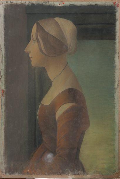 Attribué à Lucien LEVY-DHURMER (1865-1953)