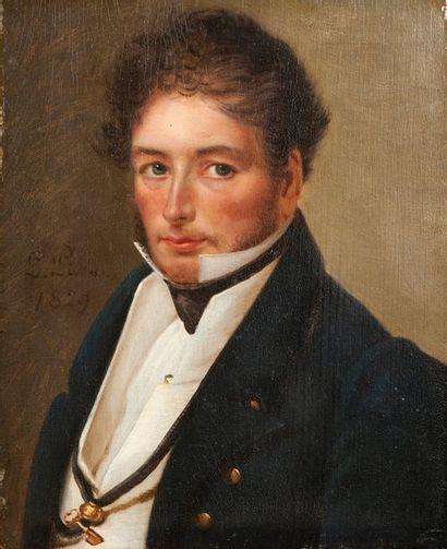 Attribué à Louis PROT (XVIIIème-XIXème siècle)