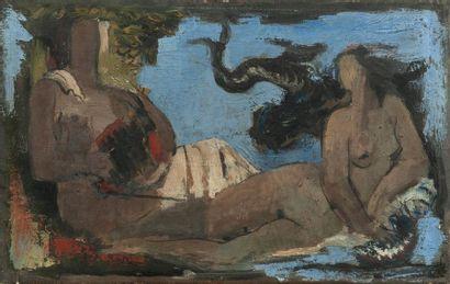 Jean SOUVERBIE (1891-1981), attribué à