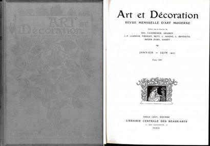 Art et Décoration, revue mensuelle d'Art Moderne.