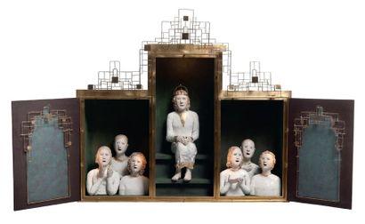 BAILLON Agnès (née en 1963)<br/>DORMAEL Éric de (né en 1951)<br/>Sculpteurs