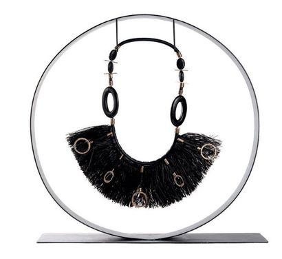 CHARLES-MESSANCE Sandrine (née en 1964)<br/>Créatrice de bijoux contemporains