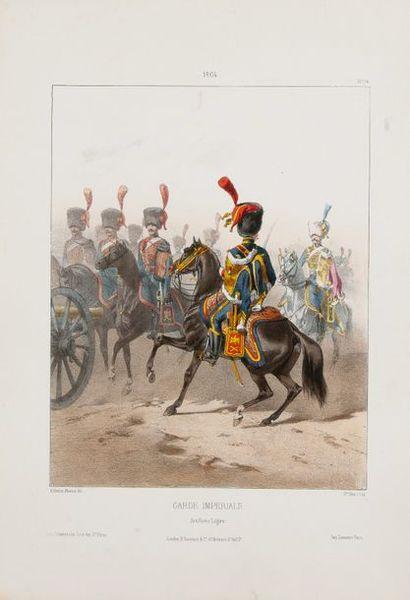 Noirmont & Marbot Costumes militaires français depuis l'organisation des premières...