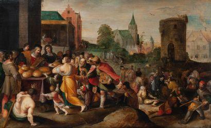 Frans II FRANCKEN dit le Jeune (Anvers 1581 - id.; 1642)