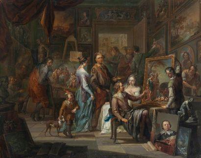 Frans Christophe JANNECK (Graz (Autriche) 1703-Vienne 1761)