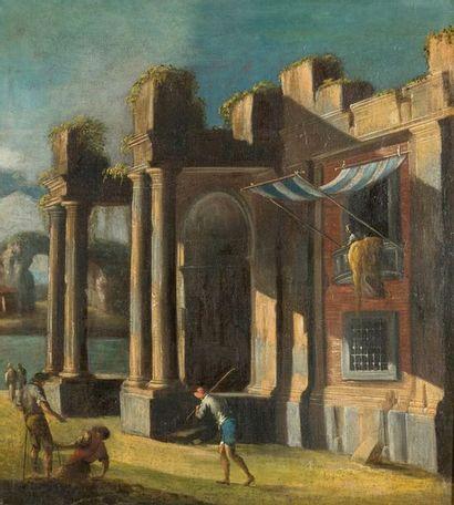 Attribué à Francesco ALBOTTO (Venise vers 1721-1757)