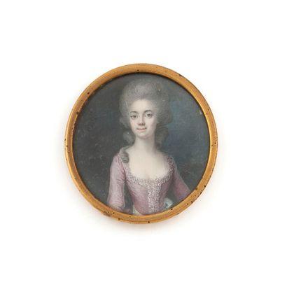 Ecole française vers 1780 Entourage de François Dumont (Lunéville 1751-Paris 1832)...