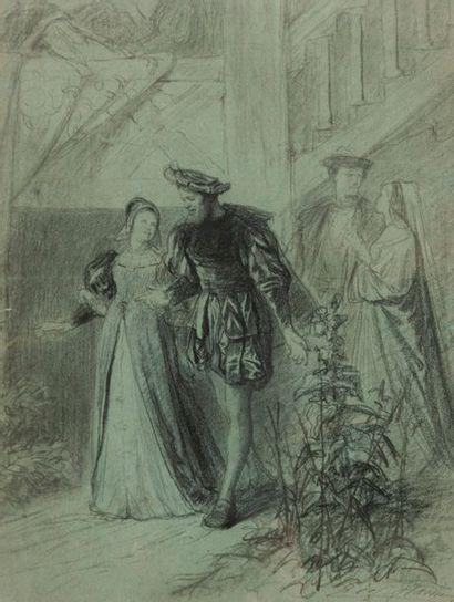 Léopold Flameng (1831-1911)