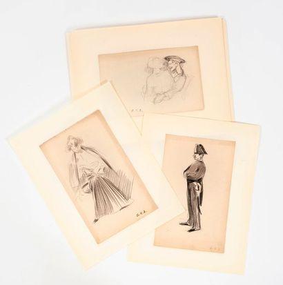 Georges-Victor HUGO (1868-1925)