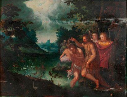 École hollandaise ou flamande du XVIIème siècle