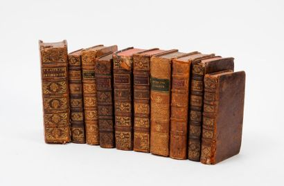 Lot d'ouvrages sur la médecine en reliure...