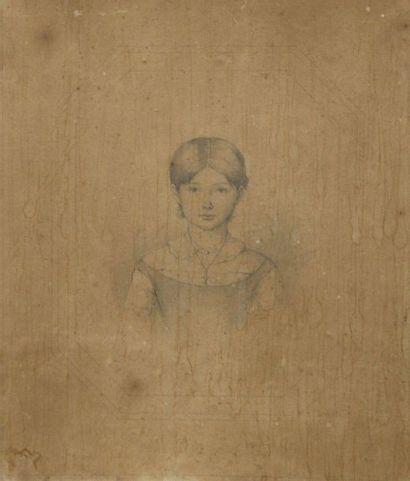 CRAUK Charles Alexandre (1819-1905): «Portrait...
