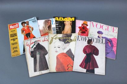 Lot de documentation  Environ 13 magazines,...