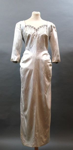 Anonyme Haute couture, années 1950  Robe...