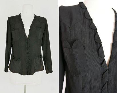 Anonyme, années 1930  Lot de deux vestes...