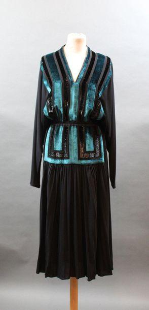 Janice WAINWRIGHT, années 1980  Robe de cocktail...