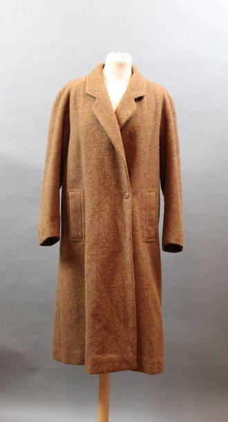 KENZO, circa 1980  Manteau trapèze en lainage...