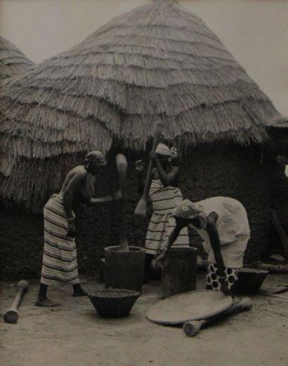HUET Michel (1917-1996) attribué. Afrique,...