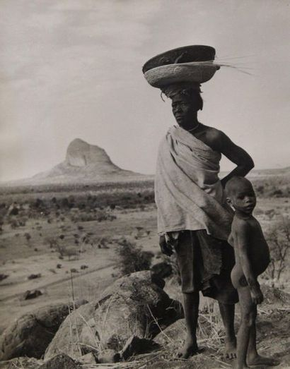 HUET Michel (1917-1996). Afrique,