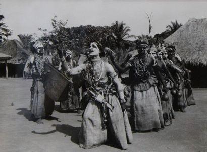 AFRIQUE. Congo Belge. Ensemble de cinq tirages...