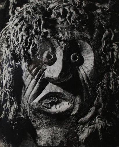 David E. SCHERMAN (1916-1997). Masques, compositions....