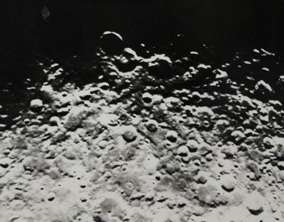 LUNE, Astronomie, Système solaire (sur les thèmes de). Ensemble de sept tirages...