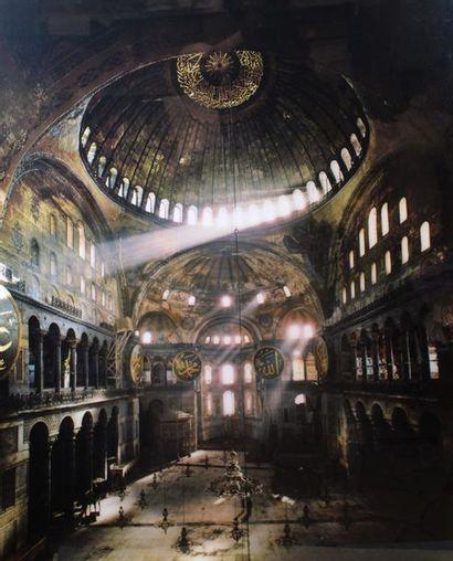 LESSING Erich (1923-2018). Hagia Sophia,...
