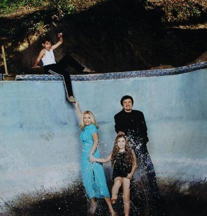 """Véronique VIAL (née en 1955). De la série """"Hollywood Splash"""", Claudia Schiffer,..."""
