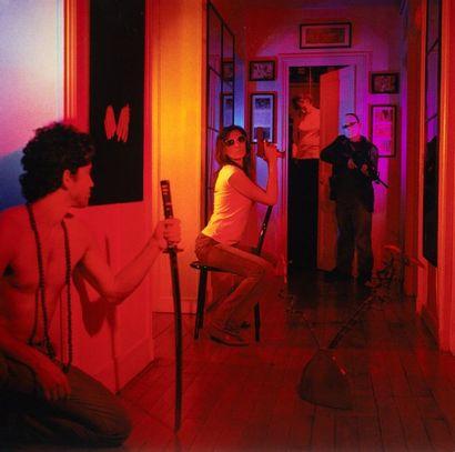 BENJAMIN HELION Nisme, 2008 Quatre tirages...