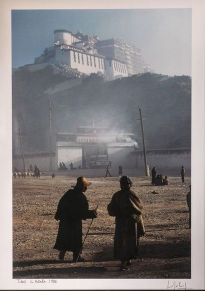 MARC RIBOUT (1923-2016) Tibet, le Potala...