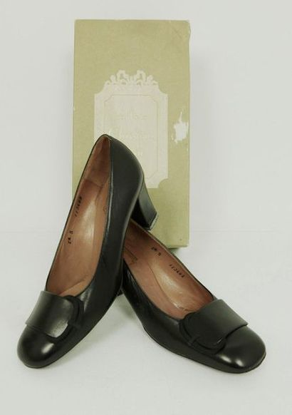 Souliers Christian DIOR, circa 1960  Paire...