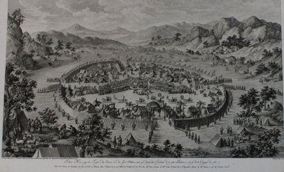 "CHINE – XVIIIe s. HELMAN Isidore-Stanislas (1743 † vers 1809). ""Tebao-Hoei occupe..."