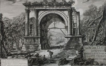 ITALIE - VALLE D'AOSTA - PIRANESI Giovanni...