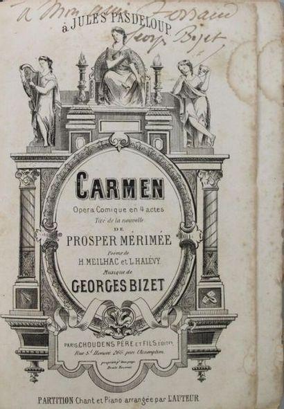 - BIZET (Georges), 1838-1875, compositeur...