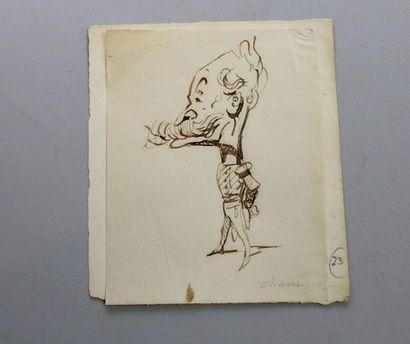 - CHAM (Amédée de NOE), 1818-1879, dessinateur...