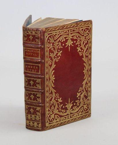 - RELIURE. Almanach Royal, Année M. DCC....