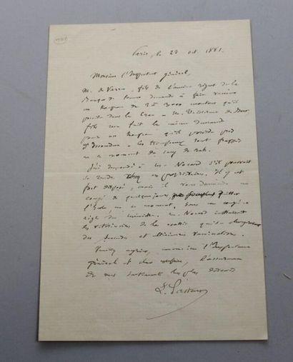 PASTEUR (Louis), 1822-1895, physicien et...