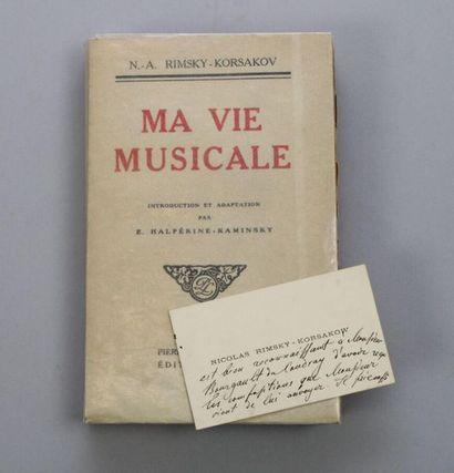 - RIMSKY-KORSAKOW (Nicolas), 1844-1908, musicien...