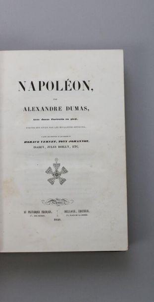 - DUMAS (Alexandre): Napoléon. Avec douze...