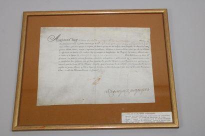 - ANCIEN REGIME. Louis XV et D'ARGENSON (Marc-René...