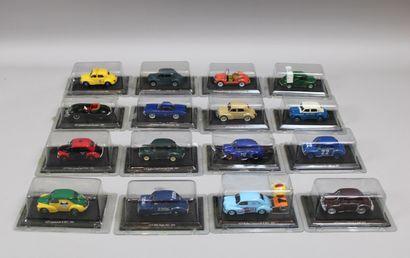 Lot de 30 voitures ELIGOR sous blister sauf...