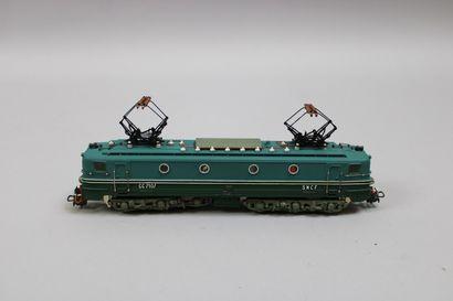 POCHER HO  Motrice électrique CC 7107, 2...