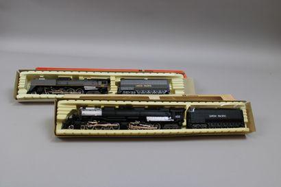 RIVAROSSI HO  Deux locomotives et leur tender...