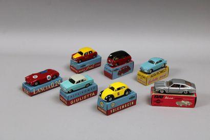 Lot de 30 véhicules dont 7 voitures MERCURY...