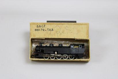 TAB R. Gerard France (HO 3 rails)  Loco-tender...