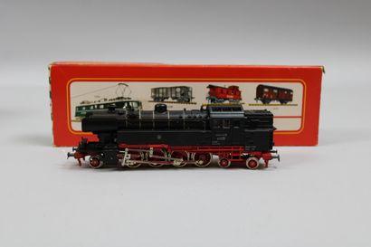 FLEISCHMANN HO  Loco-tender type 142, noire...