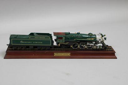 Crescent Limited  Locomotive vapeur type...