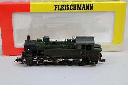 FLEISCHMANN HO  Loco-tender type 050, verte...