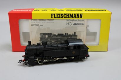 FLEISCHMANN HO  Loco-tender type 050, noire,...